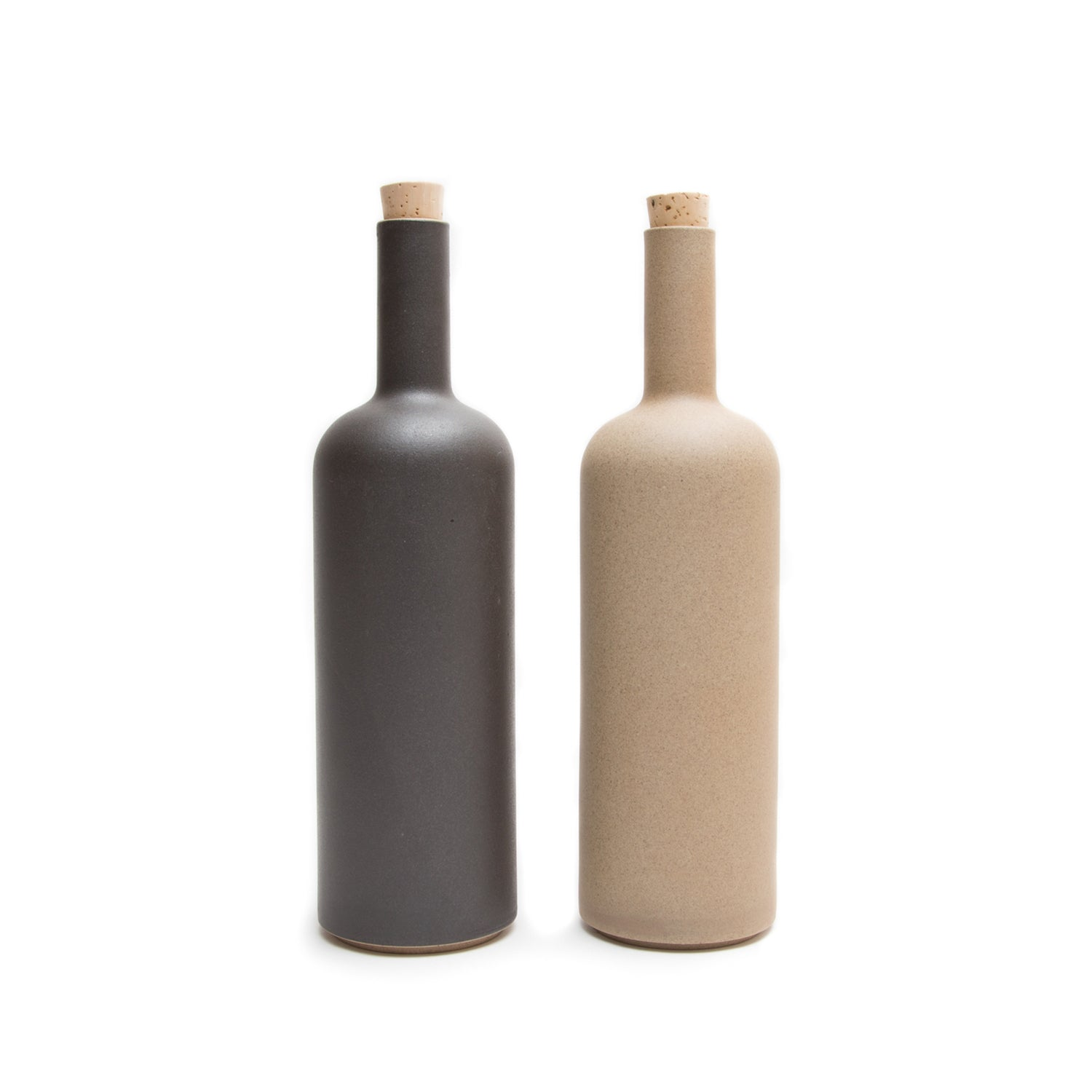 Bottle-Bottle-Hasami Porcelain-Black-JINEN