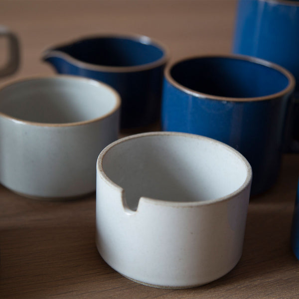 Sugar Pot, Gloss-Sugar Pot-Hasami Porcelain-Gloss Blue-JINEN