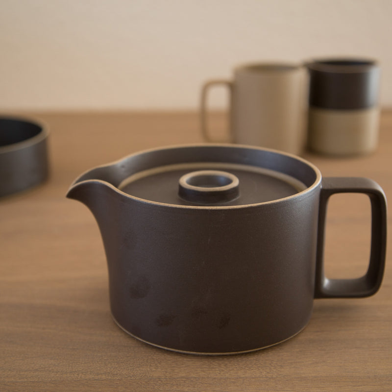 Tea Pot-Tea Pot-Hasami Porcelain-Natural-JINEN