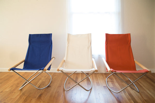 Rocking Chair, Blue-Chair-Nychair X-JINEN