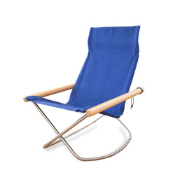 Rocking Chair, Blue