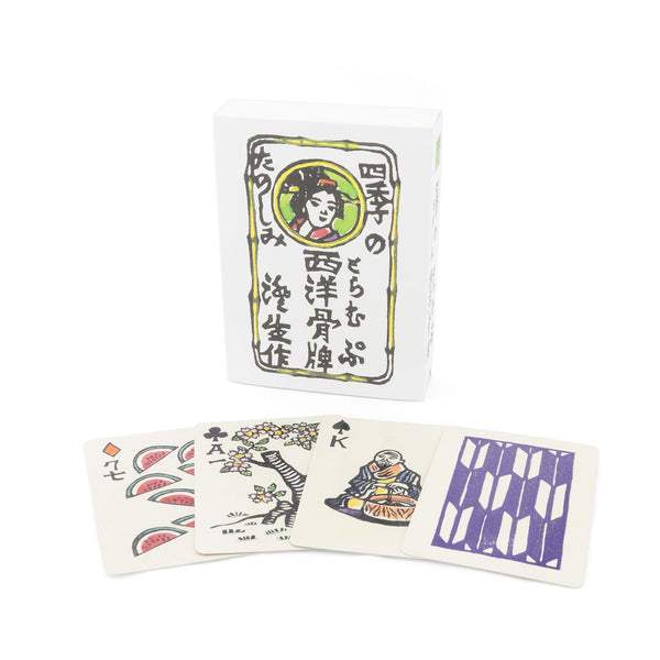 Exotic Playing Cards - 4 Seasons, By Sumio Kawakami