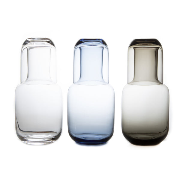 Night Carafe Set-Glass Carafe-Toyo Sasaki Glass-Clear-JINEN