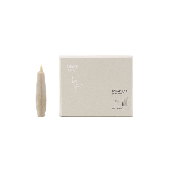 Tohaku Japanese Candle, Small
