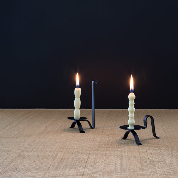 Portable Candlestick - Long Handle-Candle Stick-Hakuhodo-JINEN