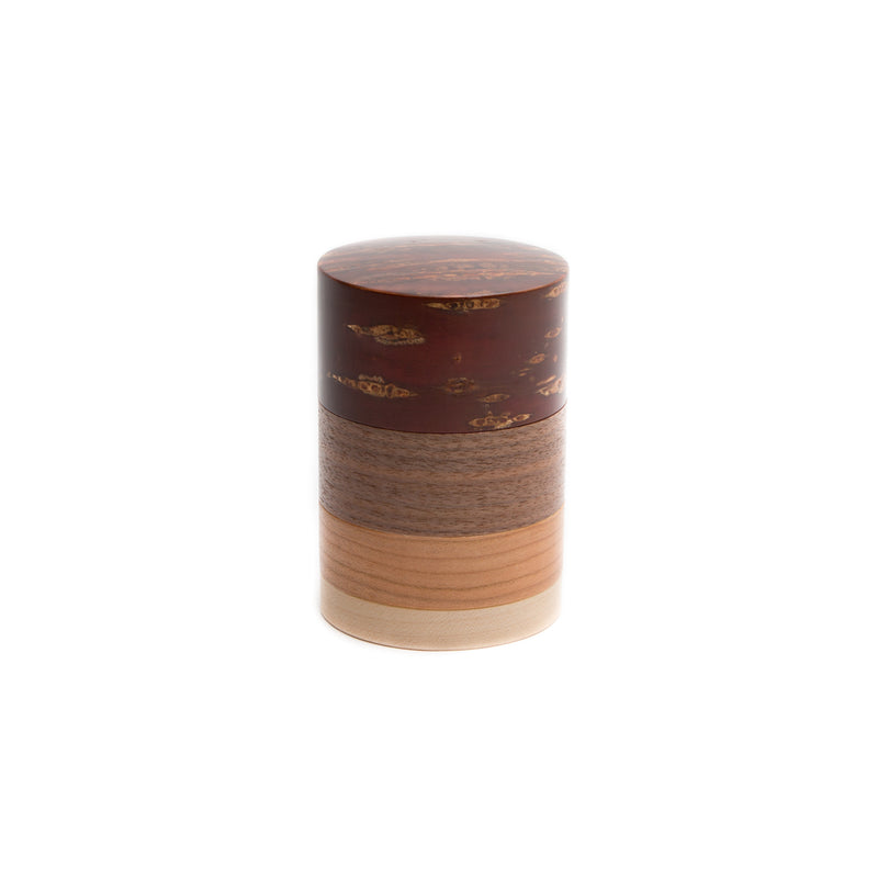 Tea Canister - Wazutsu - Cherry Tree Bark