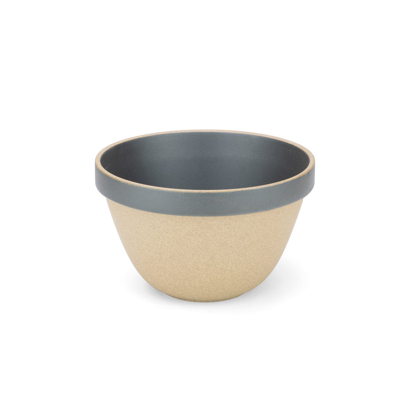 Deep Round Bowl, Black