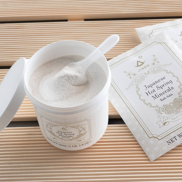 Japanese Hot Spring Minerals Bath Salts, Hinoki - 500g