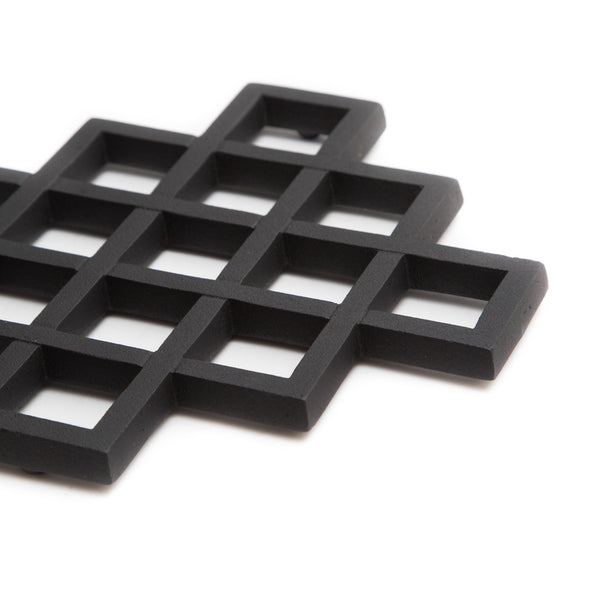 "Cast Iron Trivet - Lattice, 8""-Trivet-Kamasada-JINEN"