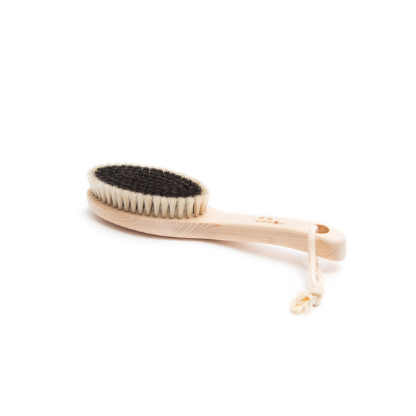 "Horse Hair Body Brush - Soft, 9""-Body Brush-Kanaya Brush-JINEN"