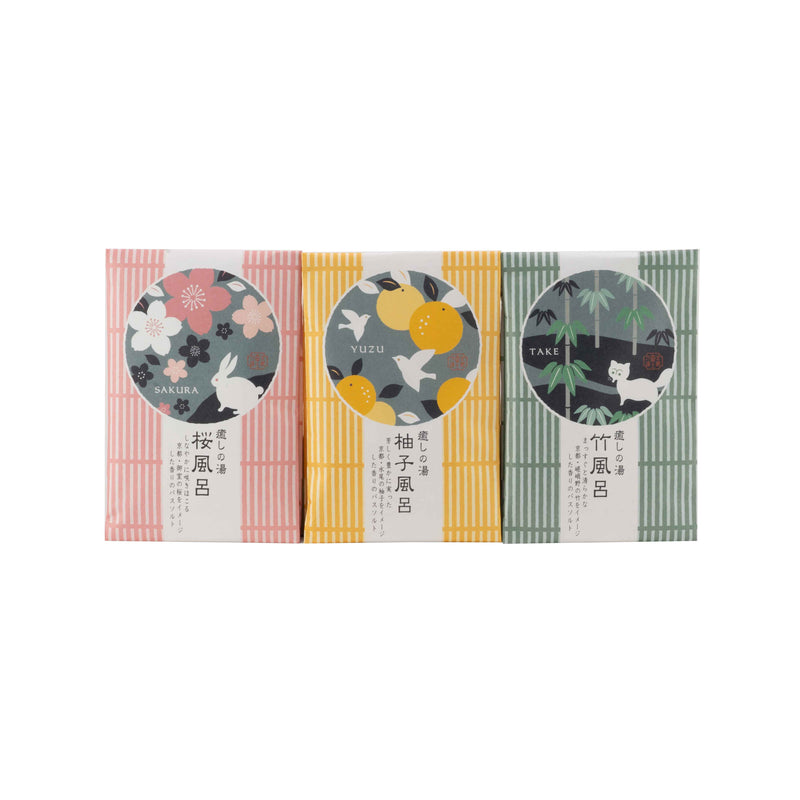 Iyashi Healing Bath Salt, 3 Pack