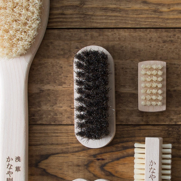 Horse Hair Shoe Brush