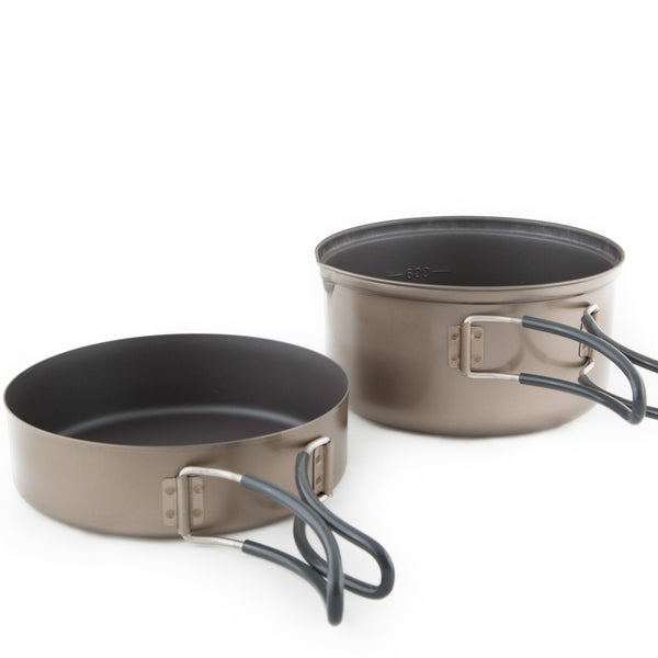Ti Pot Delux Set - Non-Stick 0.9L-Pot/Mug Set-Evernew-JINEN