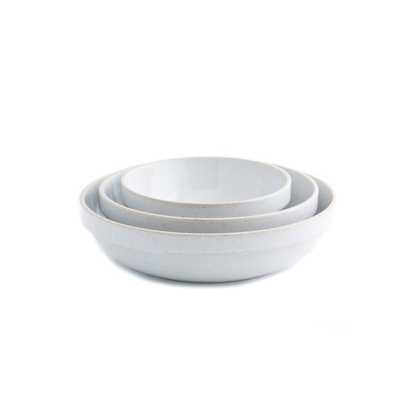 "Round Bowl, Gloss Gray-Bowl-Hasami Porcelain-5.75""-JINEN"