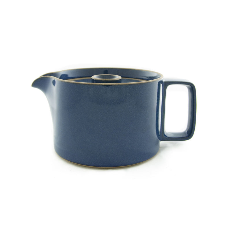 Tea Pot, Gloss-Tea Pot-Hasami Porcelain-Gloss Blue-JINEN