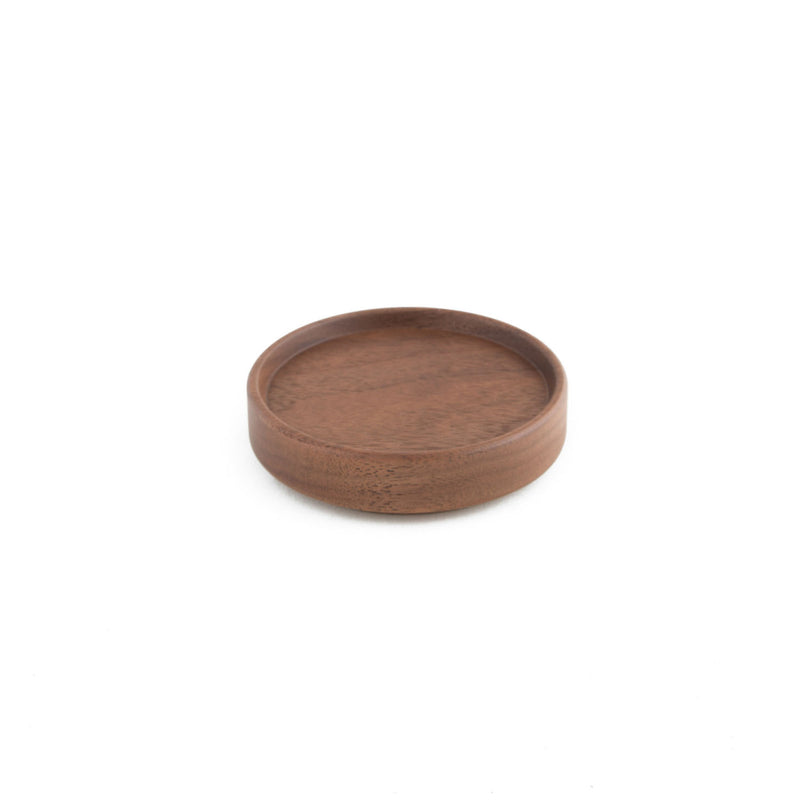 "Tray, Walnut-Tray-Hasami Porcelain-3.25""-JINEN"