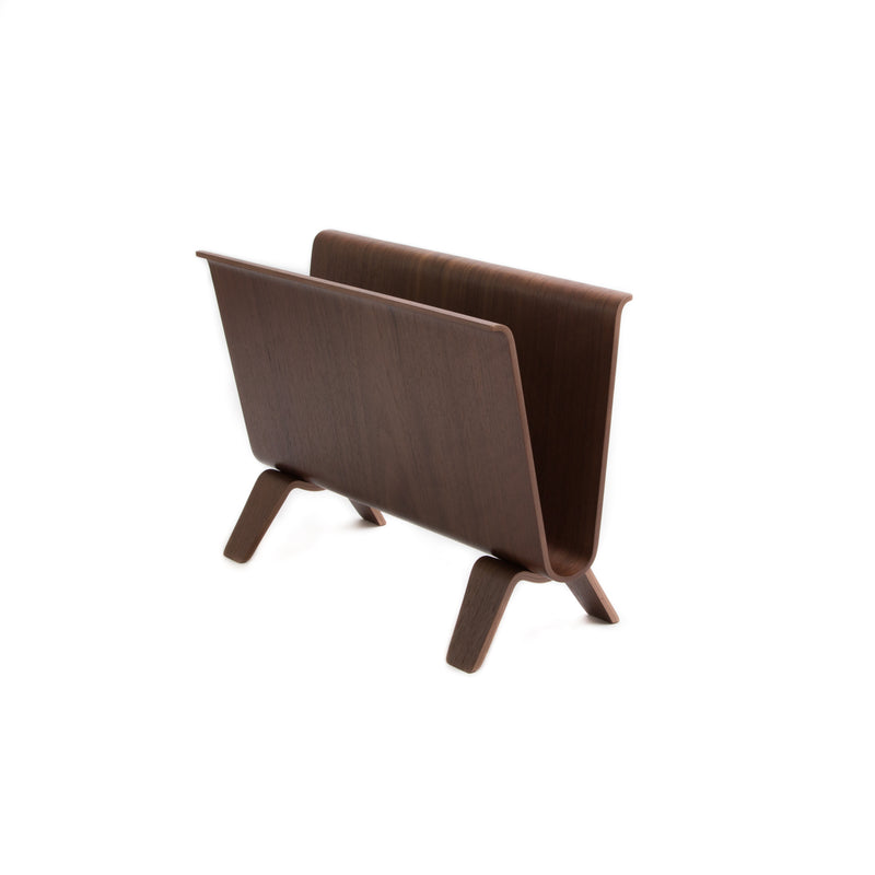 Magazine Rack-Magazine Rack-Saito Wood-Walnut-JINEN