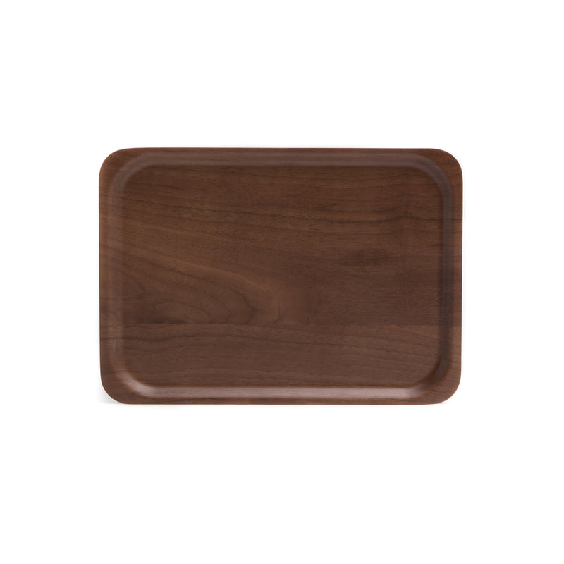 Rectangle Tray-Tray-Saito Wood-Walnut-JINEN