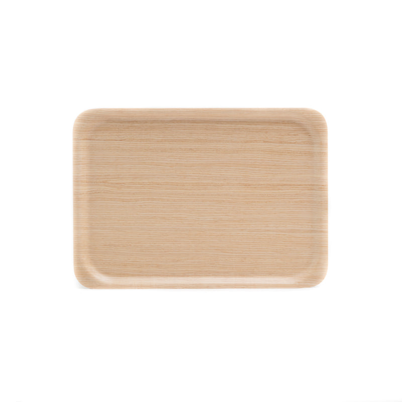 Rectangle Tray-Tray-Saito Wood-Ayous White-JINEN