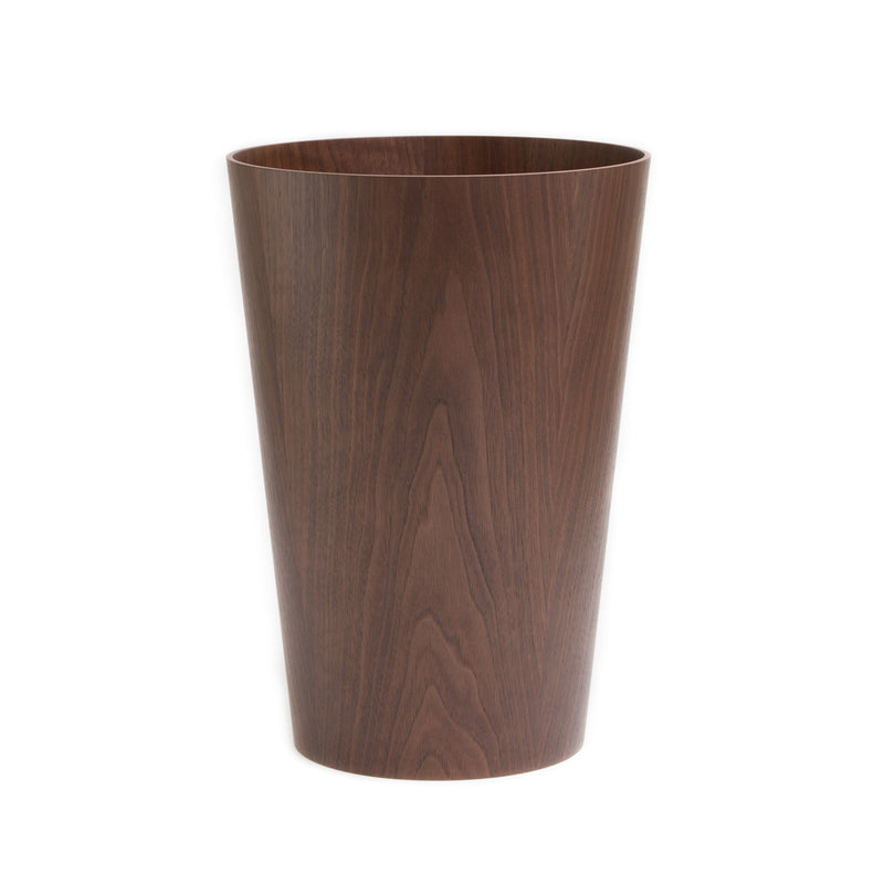 Waste Basket - Large-Waste Basket-Saito Wood-Walnut-JINEN