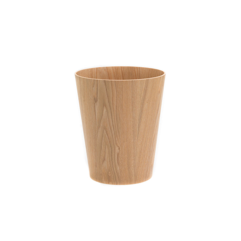 Waste Basket - Small-Waste Basket-Saito Wood-Ash-JINEN