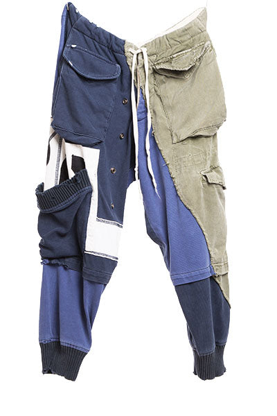 DECONSTRUCTED RUGBY PANT