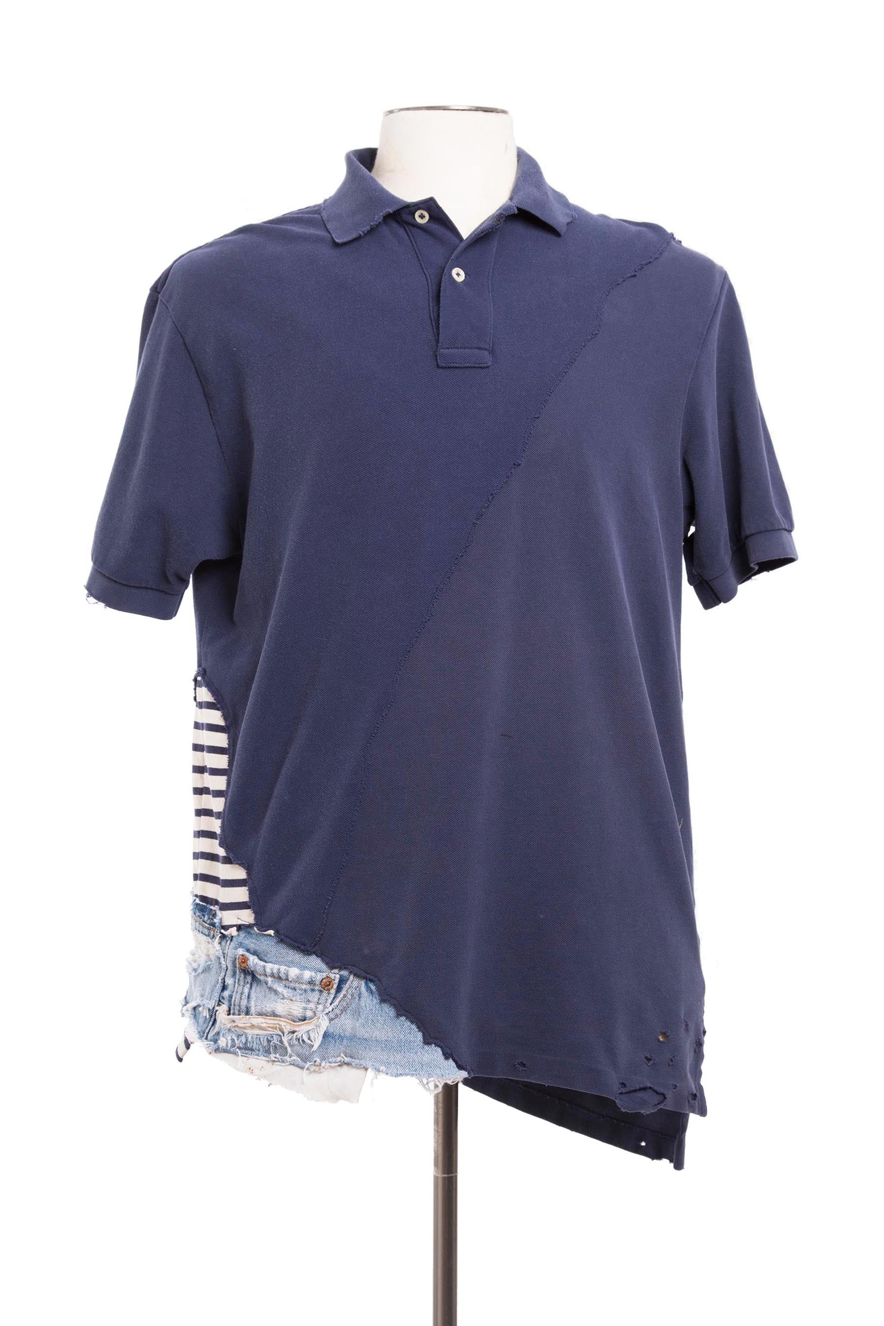 NAVY / DENIM POLO