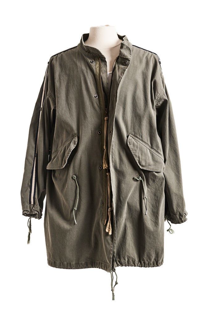 ARMY FISHTAIL PARKA