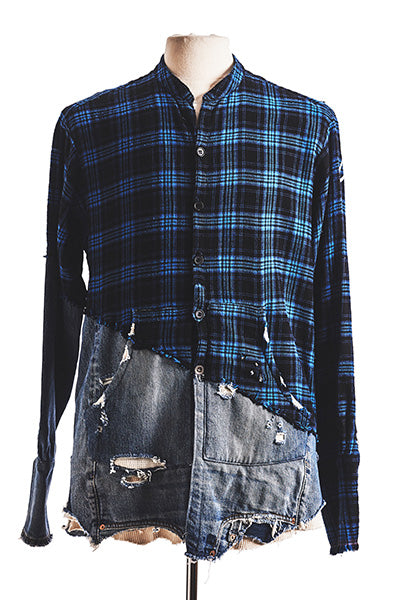 GL 50/50 FLANNEL / DENIM STUDIO SHIRT