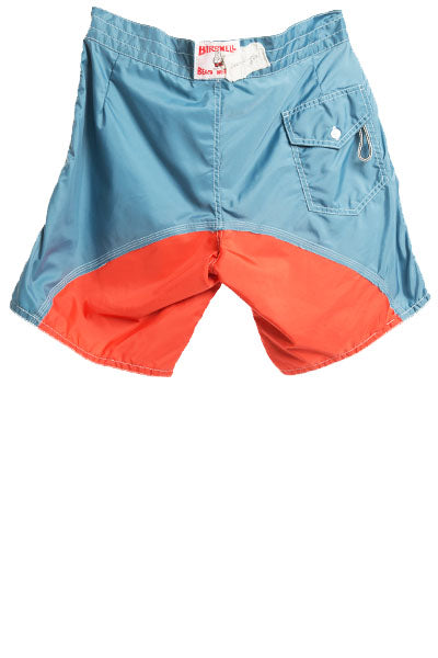 50/50 STEEL BLUE / ORANGE BIRDWELL SHORT