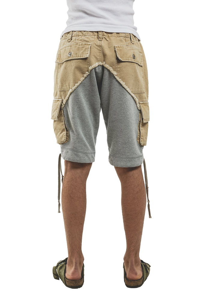 CANVAS 50/50 CARGO SHORTS