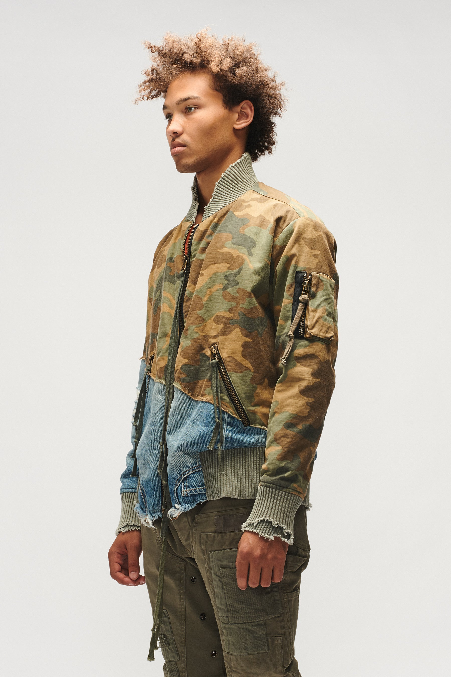 CAMO 50-50 FLIGHT JACKET