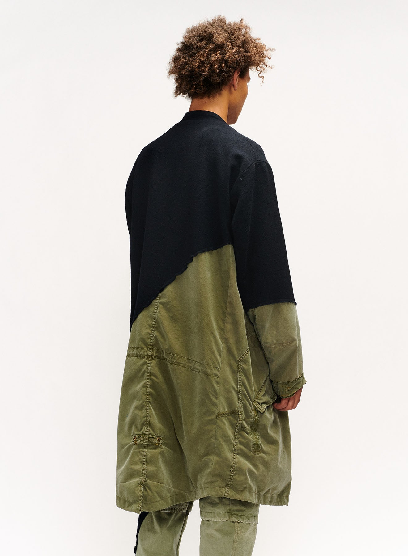 50-50 OFFICER / ARMY FISHTAIL PARKA