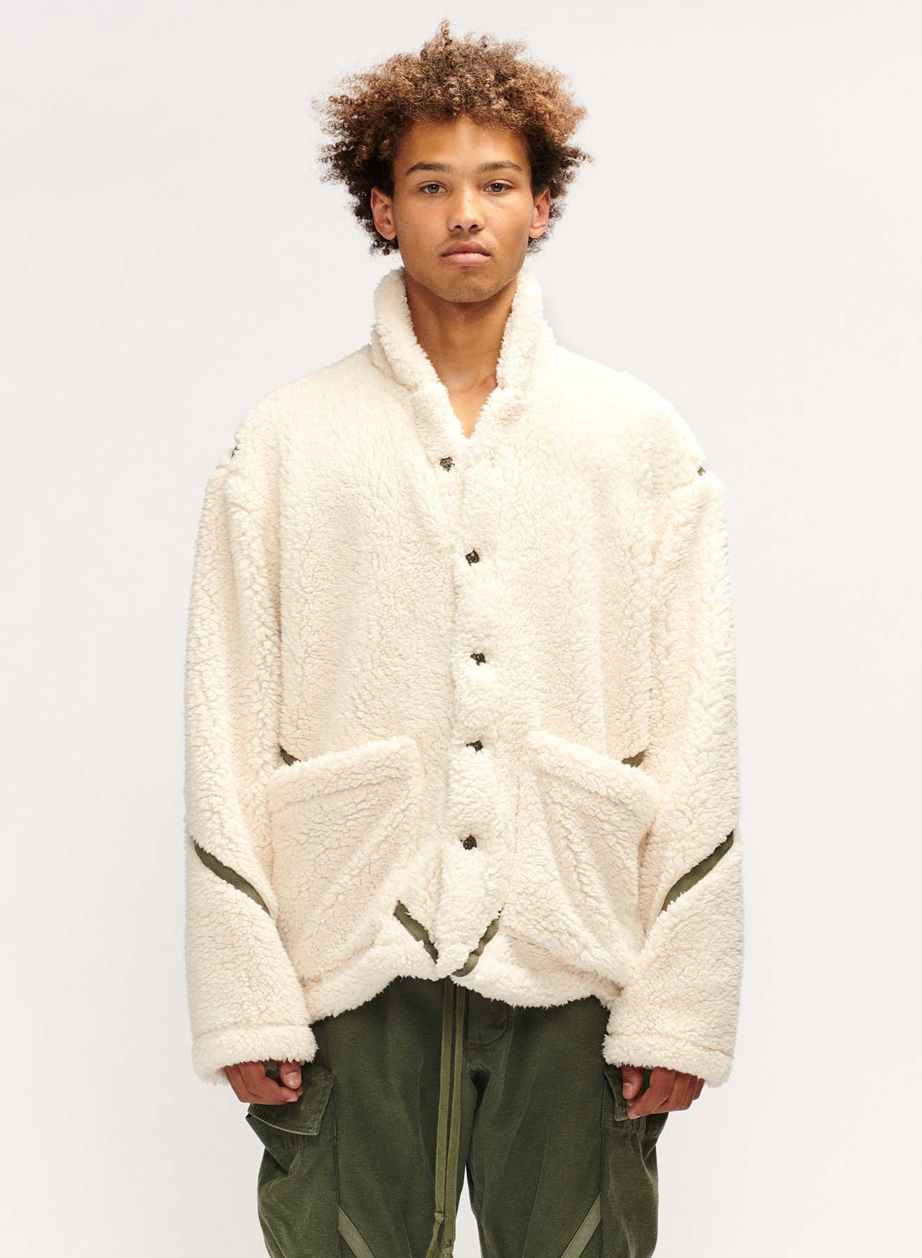 SHERPA SHAWL COLLAR