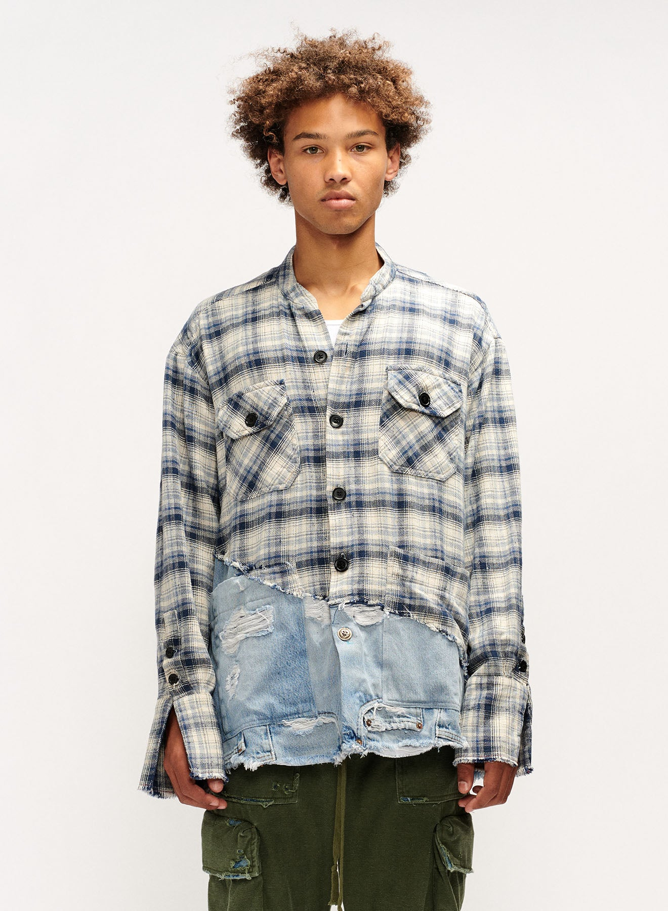 RIVER/DENIM 50-50 BOXY STUDIO