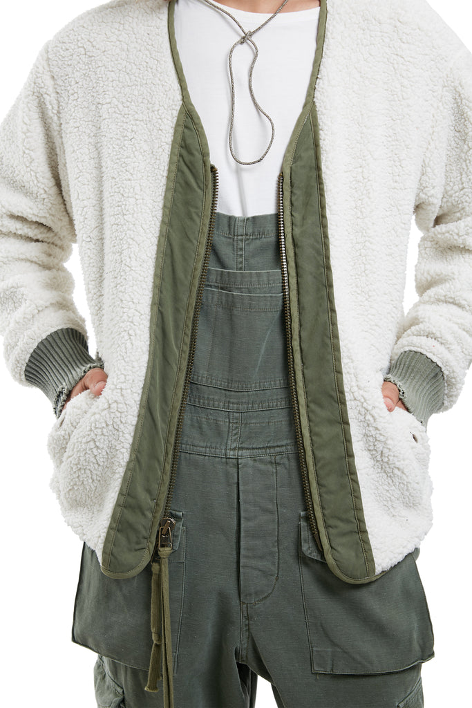 MODERN FLIGHT JACKET (SHERPA)