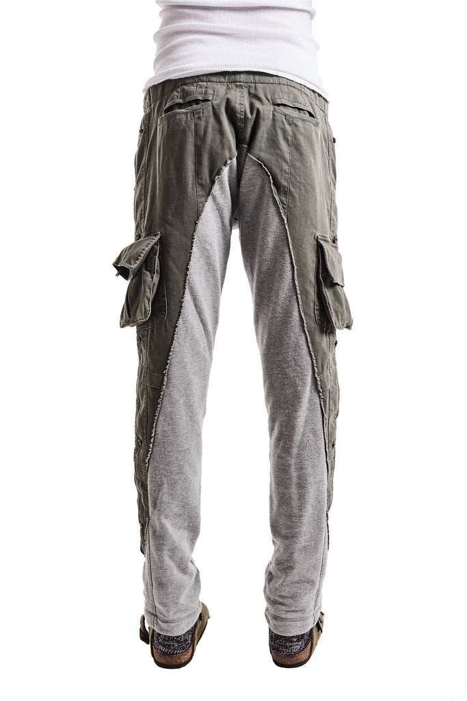 50/50 ARMY/TERRY LONG PANT