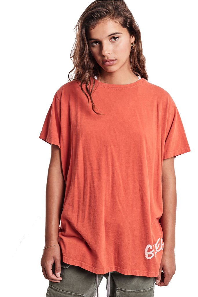 ORANGE DECONSTRUCTED GL TEE
