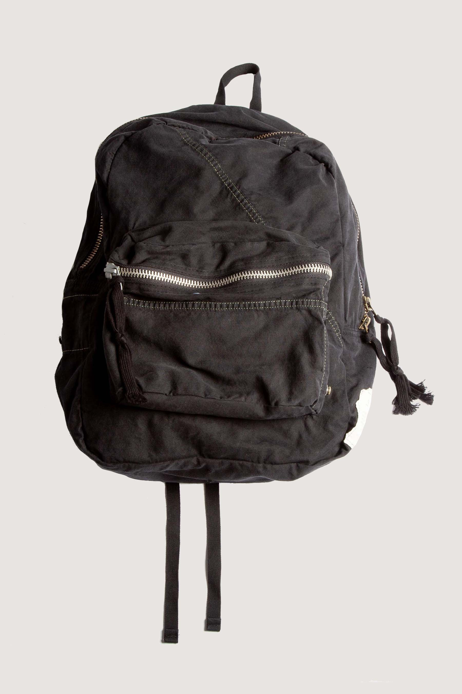 TENT SCRAPWORK BACKPACK - BLACK