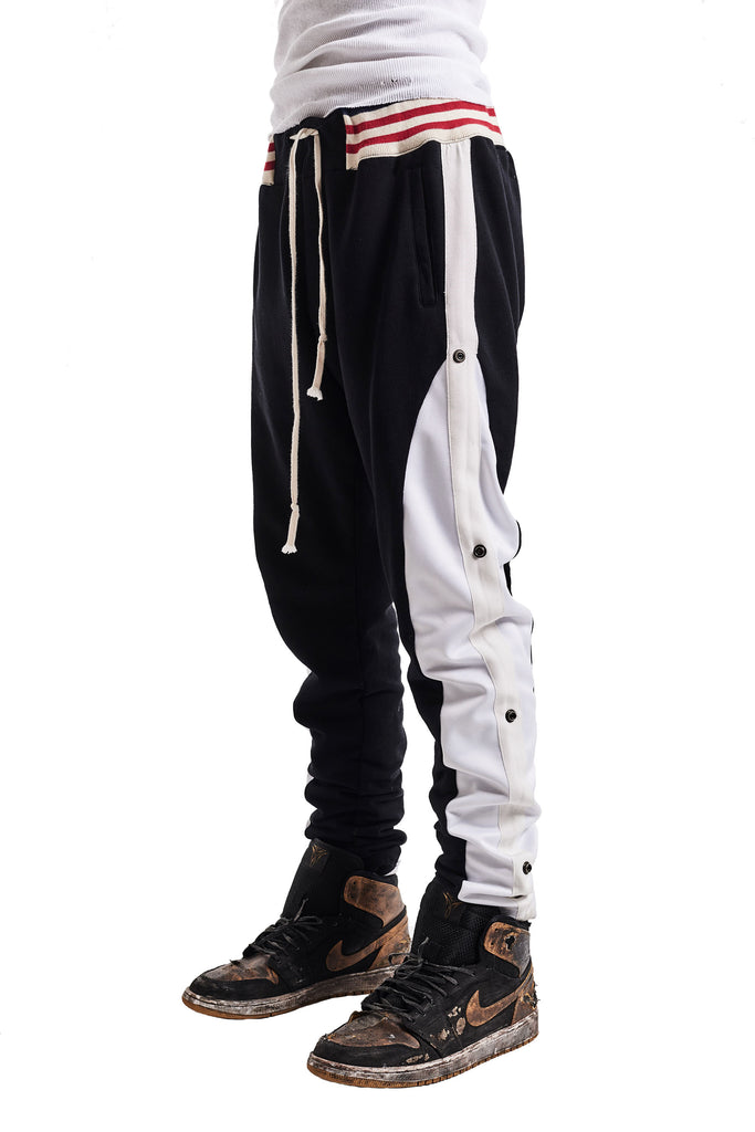 BLACK BORG LONG PANT