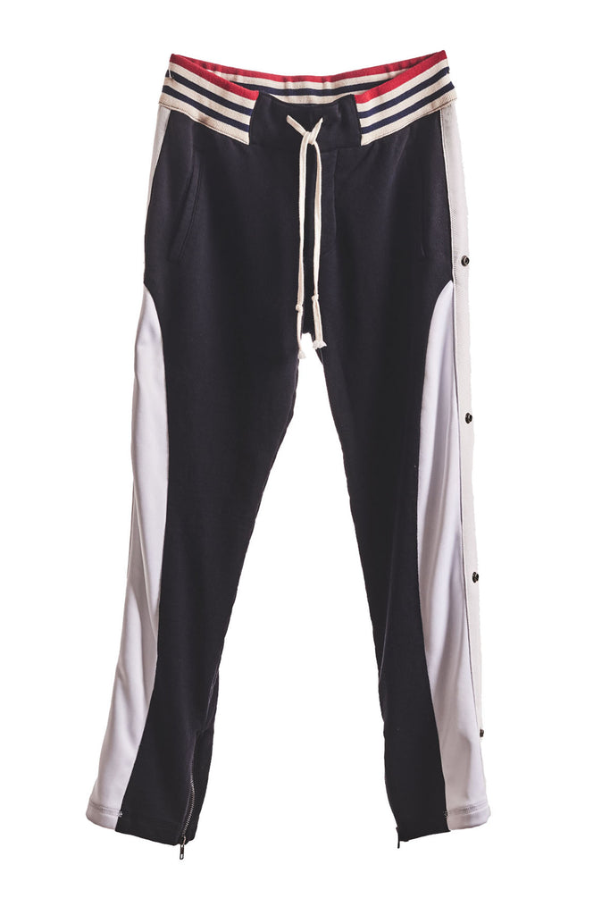 BLACK BORG LOUNGE PANT