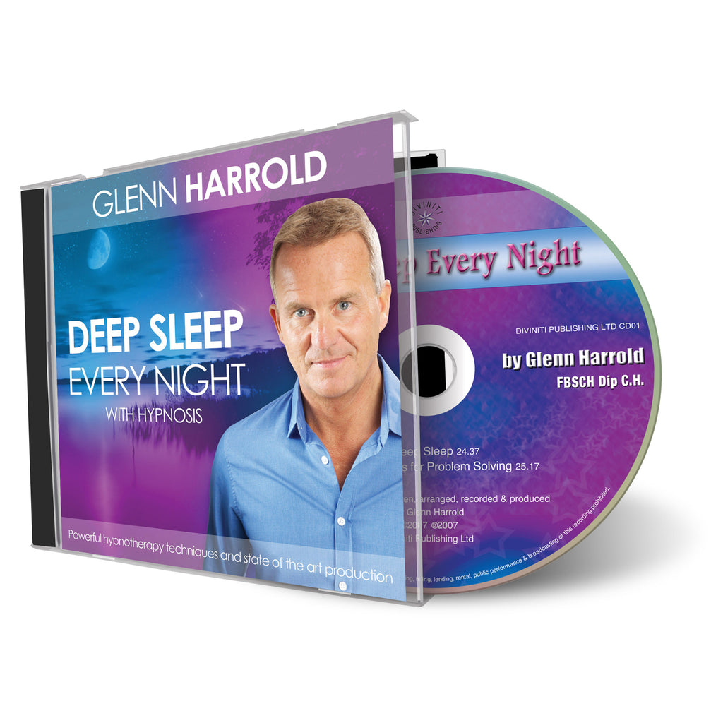 Deep Sleep Every Night - Hypnosis CD by Glenn Harrold