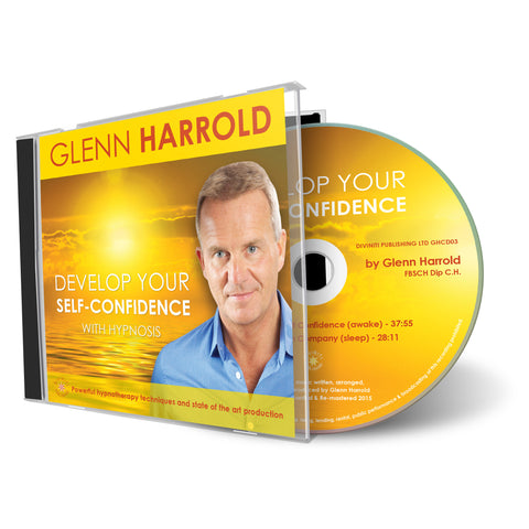 Develop Your Self Confidence - Hypnosis CD by Glenn Harrold