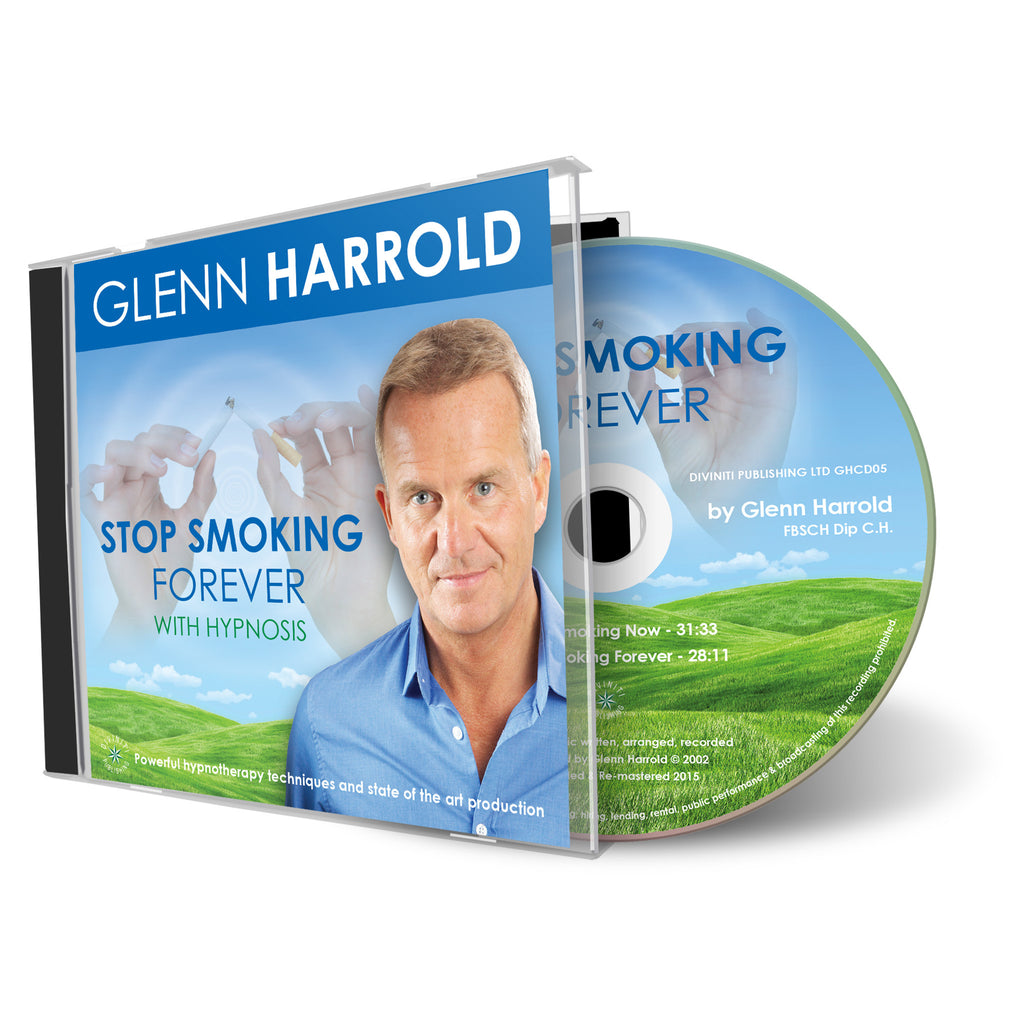 Stop Smoking Hypnosis CD by Glenn Harrold