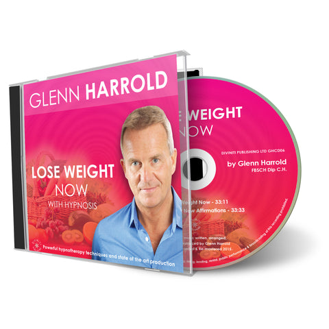 Lose Weight Now! Weight Loss Hypnosis CD by Glenn Harrold