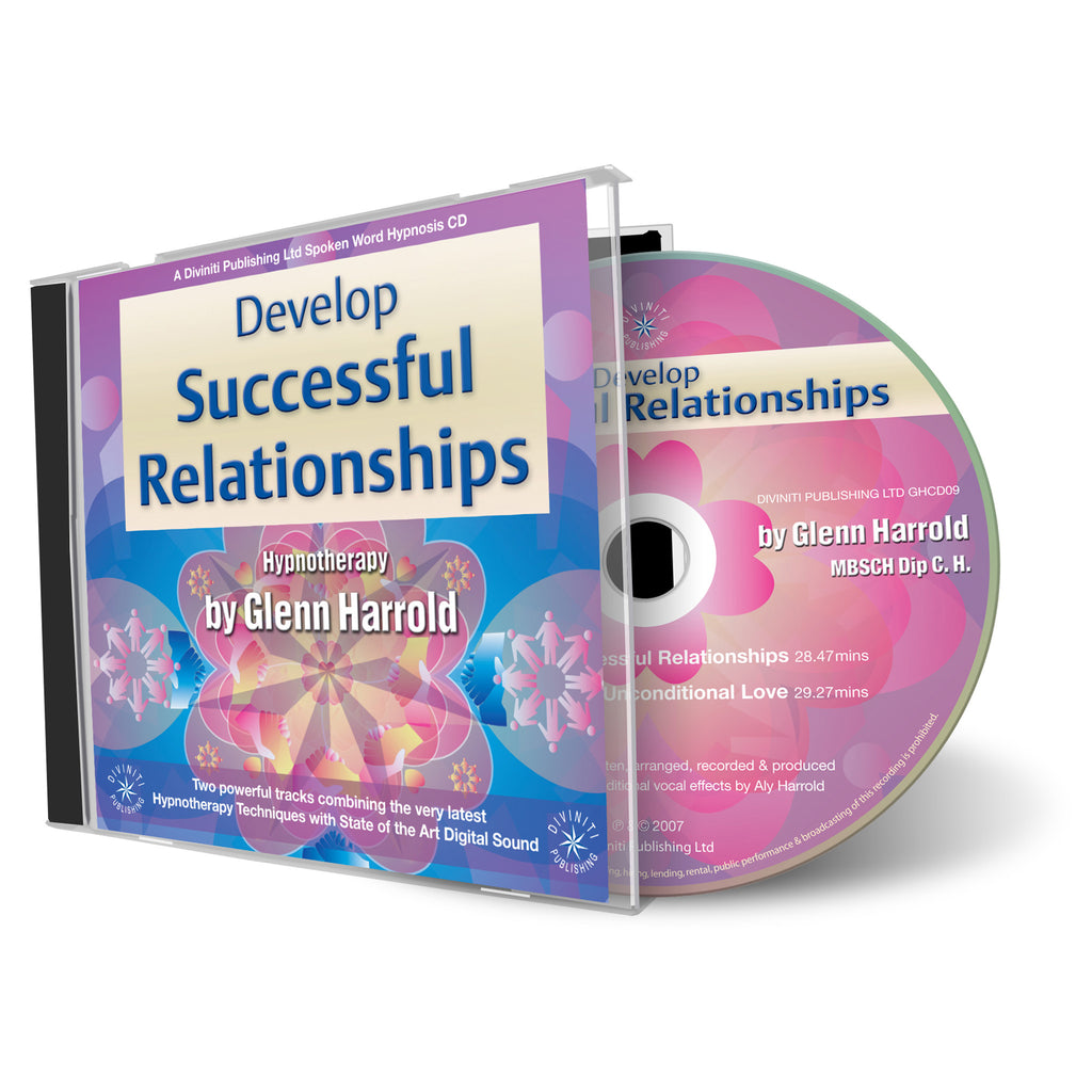 Develop Successful Relationships - Hypnosis CD by Glenn Harrold
