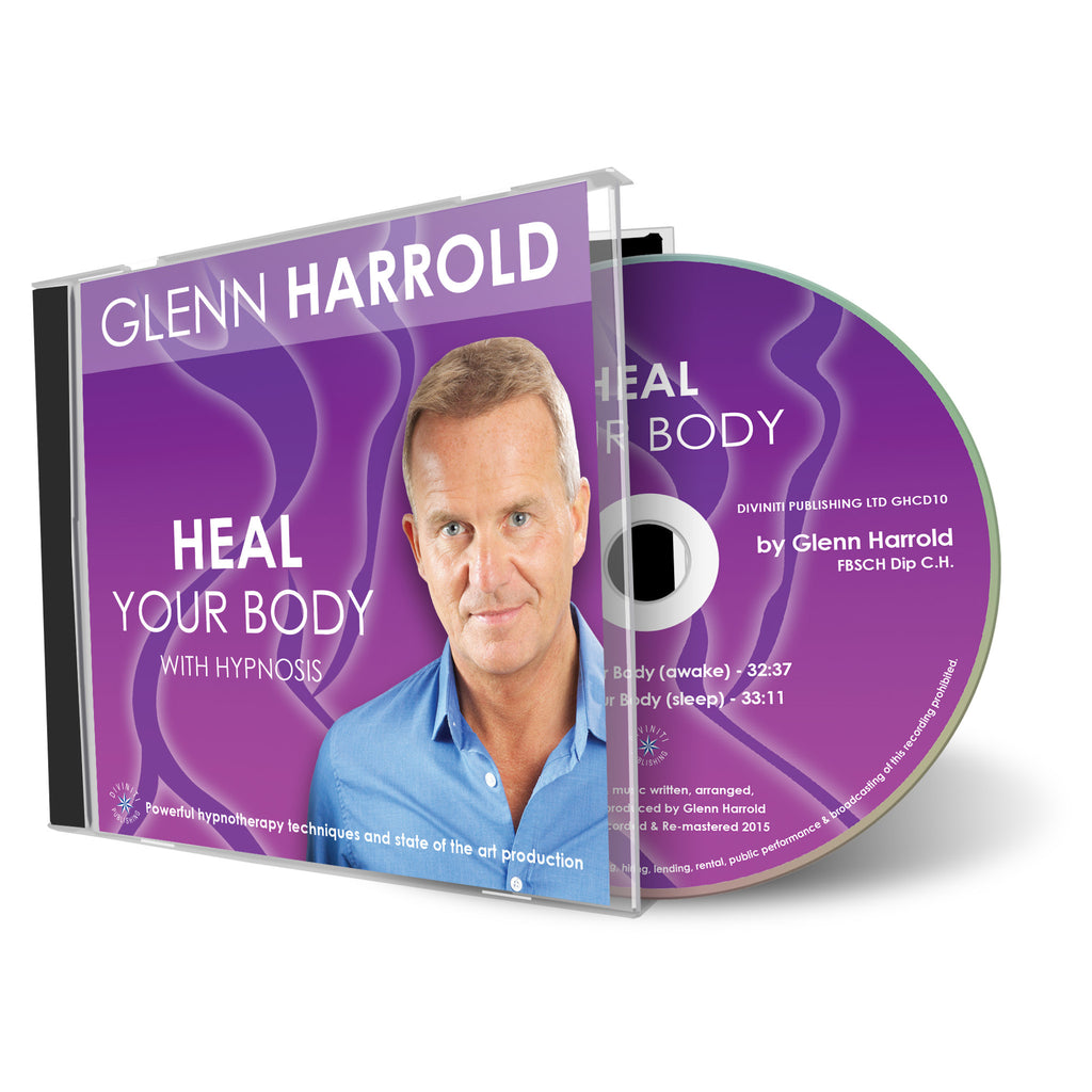 Heal Your Body - Hypnosis CD by Glenn Harrold