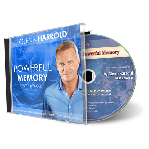 Develop A Powerful Memory - Hypnosis CD by Glenn Harrold