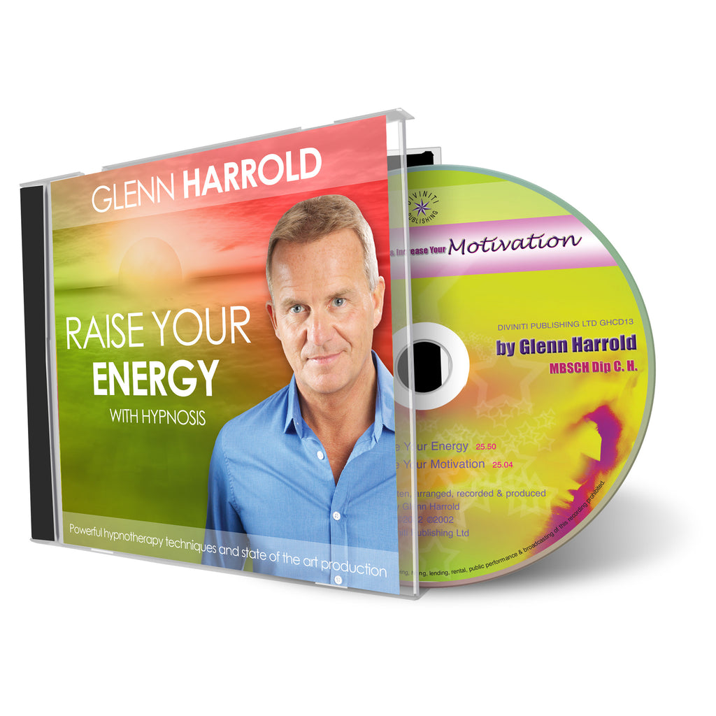 Raise Your Energy & Increase Your Motivation CD