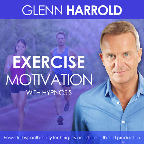 Exercise & Fitness Motivation - Hypnosis MP3 by Glenn Harrold